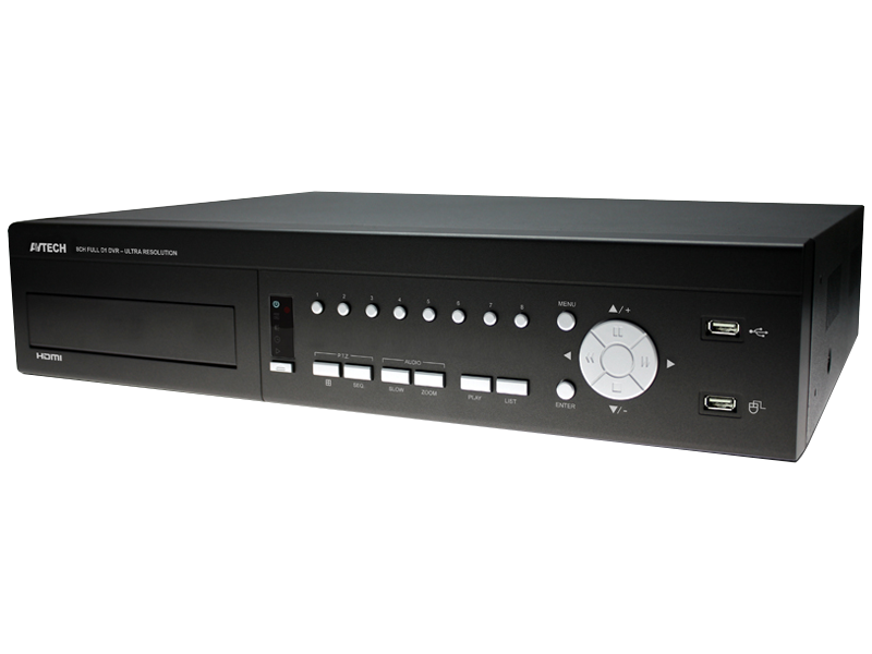 AVTECH AVC 706H | 8 Channel HDMI DVR